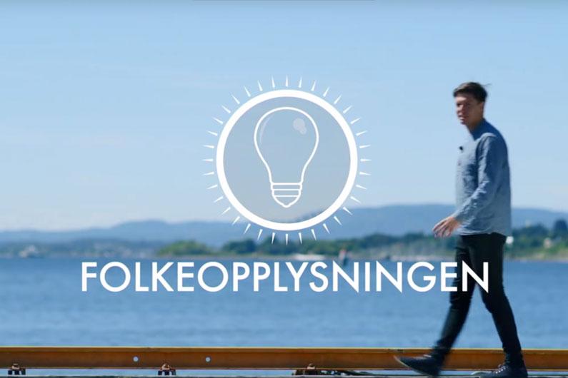 Norska dokumentärserien Folkeopplysningen om cannabis