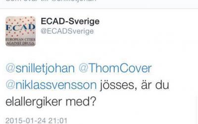 ECAD Sverige, Allan Rubin och ecadgate