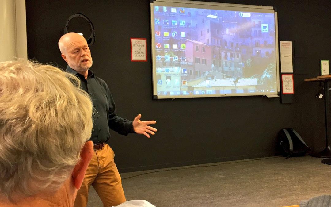 Utslängd från invigningen av RNS lokalförening i Göteborg